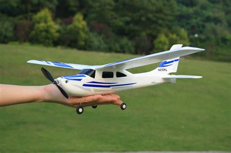 Good Beginner Plane!2.4g Micro Parkflyer 182 Rc Plane