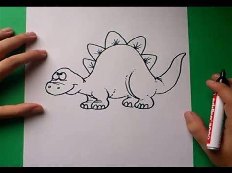 como dibujar  dinosaurio paso  paso    draw  dinosaur  youtube