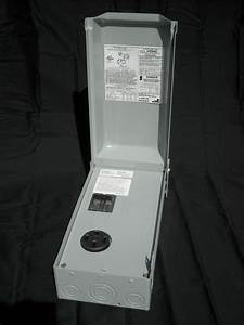 New Midwest Rainproof Power Outlet Box U054c W   50 Amp Rv