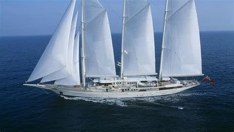 Biggest Charter Boat In The World by The Battle For The Title Of Largest Sailing Yacht In The