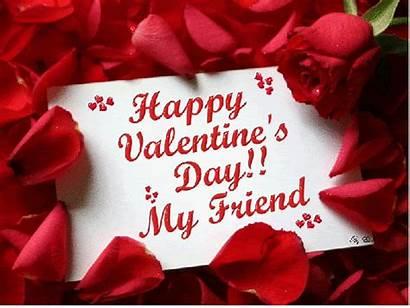 Valentine Card Friend Friends Valentines Happy Quotes