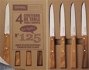 Couteau De Cuisine Opinel : coffret 4 couteaux de table esprit sud couteau opinel couteaux berthier ~ Dode.kayakingforconservation.com Idées de Décoration