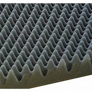 Isolant Acoustique Voiture : plaque de mousse alv ol e 100 x 50 cm feu vert ~ Premium-room.com Idées de Décoration