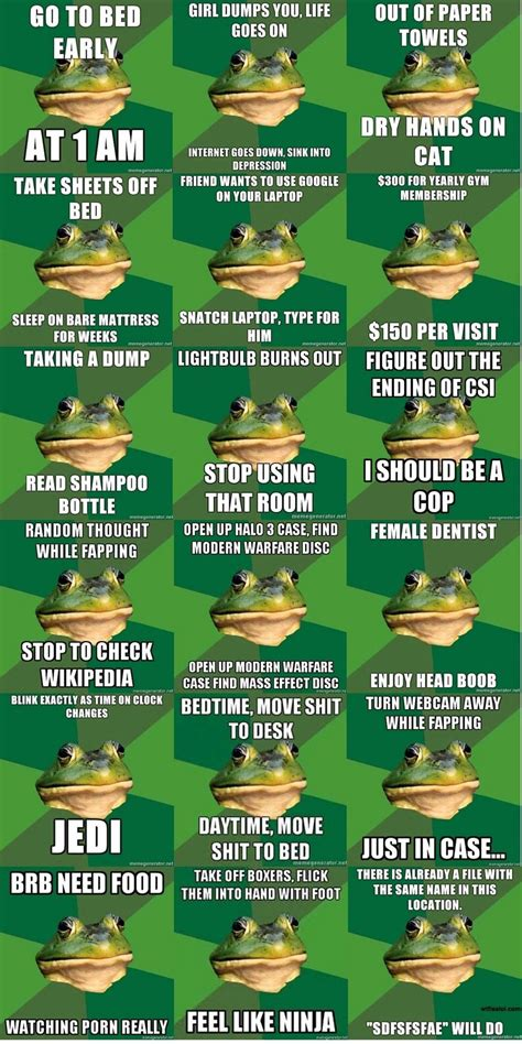 Foul Bachelor Frog Meme - 301 moved permanently