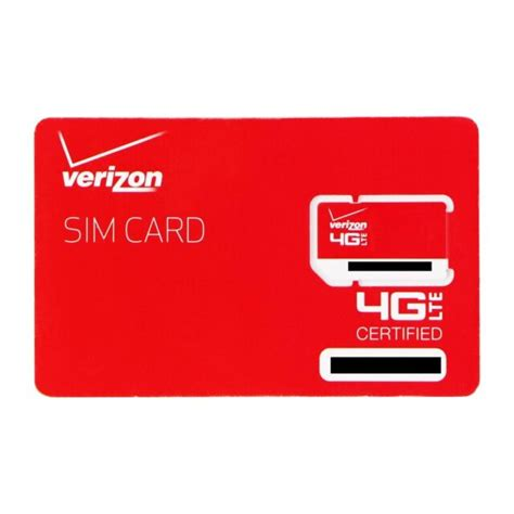 Earn up to 4% of purchases in rewards. Verizon Wireless 4G LTE SIM Card 2FF (RETAILSIM4G-A) | eBay