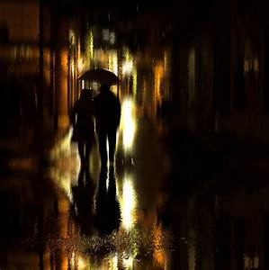 Free, Images, Reflection, Darkness, Night, Black, Water, Lighting, Street, Light, Evening