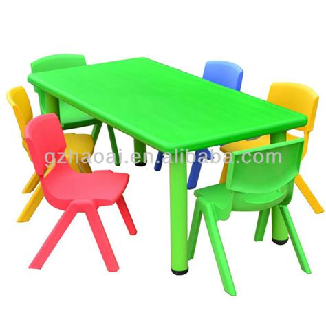 hl 6506 colorful cheap used preschool tables and chairs