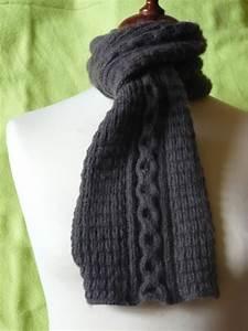 Echarpe Homme Tricot : tricoter une echarpe irlandaise ~ Melissatoandfro.com Idées de Décoration