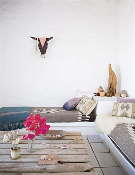 boho chic home  mexican decor touches digsdigs