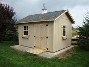 amish wood garden shed kits