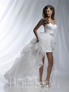 elegant lace sweetheart white organza wedding gowns short With elegant short white wedding dress