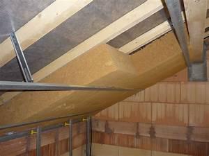 Poser Du Lambris Dans Les Combles : laine de bois la maison de philou et math ~ Premium-room.com Idées de Décoration