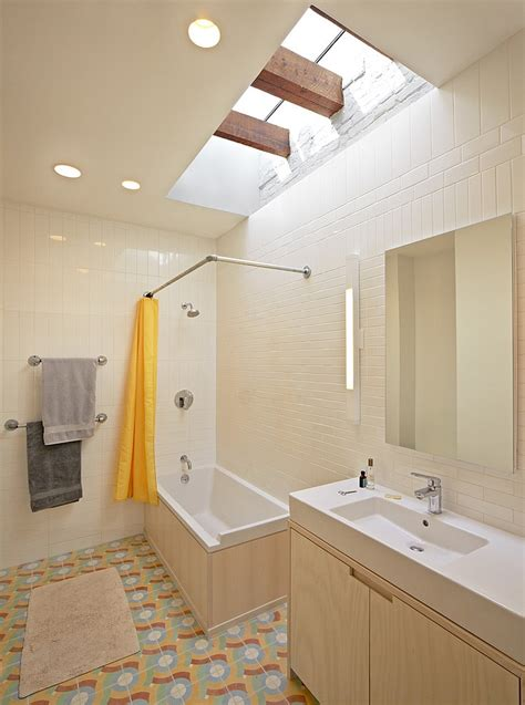 Chair Rail In Bedroom 23 gorgeous bathrooms that unleash the radiance of skylights
