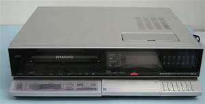 Sanyo Betacord Vcr Model 4030