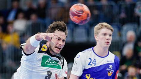Der vierte sieg in folge für die deutschen handballer: Handball-Länderspiel in Mannheim: Fotos von Deutschland ...