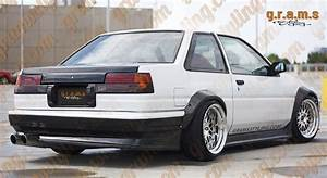 Toyota Corolla Ae86 Coupe Lightweight Boot Lid Competition Type V6