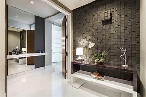 decoration entree maison design With entree de maison design 1 maison contemporaine blanche avec un interieur design