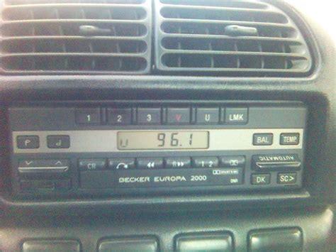 becker europa 2000 radio becker europa 2000 jak zapamiętać stacje