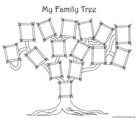family tree template designs  making ancestry charts
