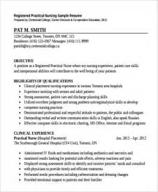 Nursing Supervisor Resume Exles by Sle Clinical Manager Resume 9 Exles In Pdf Word