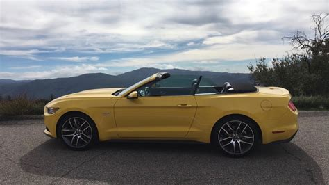 gt triple yellow convertible mustang source ford mustang