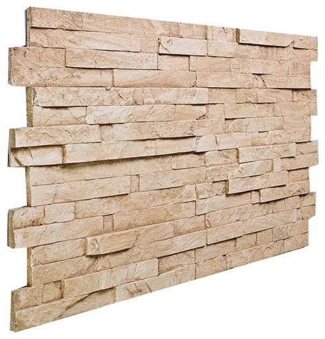 slate panels stacked slate wall panel almond traditional siding and stone veneer by panels 4 less