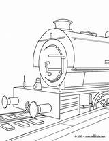 Coloring Train Steam Engine Locomotive Bullet Drawing Boxcar Printable Speed Template Getcolorings sketch template