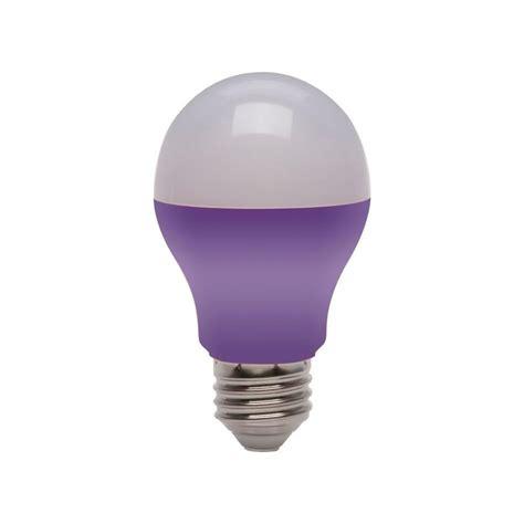 purple led light bulbs ecosmart 25w equivalent a19 led light bulb purple ecs