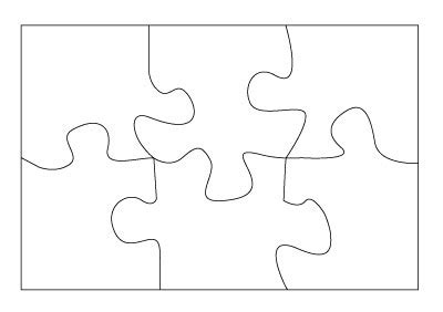 Best Photos Of 5 Piece Puzzle Template