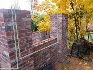 Outdoor Wiring Through Brick Walls And Piers