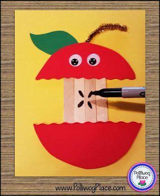 craft stick apple kid friendly fall crafts 160 | 1d2b4cb6125dcb597d05dd660fcf98d1