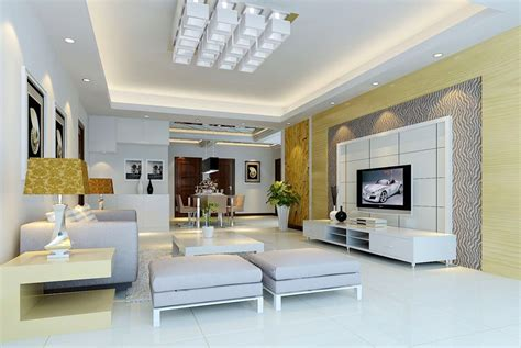 d home interiors modern house 3d living interior tv wall design