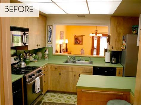 avocado green kitchen from avocado to jade a green kitchen done right curbly 1396