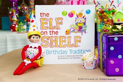 The On The Shelf Birthday by Birthday With On The Shelf A Birthday Tradition