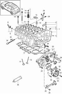 Porsche Cayenne Engine Timing Cover  3 6 Liter  Cayenne