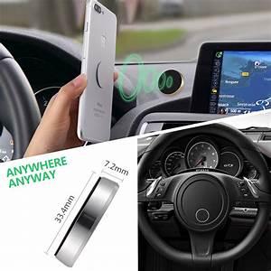 Support Aimant Telephone Voiture : universel support de voiture aimant magn tique pour t l phone iphone samsung gps ebay ~ Voncanada.com Idées de Décoration