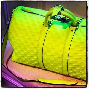 Louis Vuitton Bags Louis Vuitton Keepall 45 Fluo Neon
