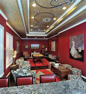 Game, Room, Furniture, Ceiling, Art, And, Accessories, -, Traditional, -, Home, Theater, -, Houston