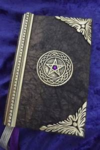 Personal Journal Book Of Shadows Blank Spell Book Wiccan Journal