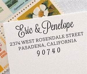 personalized address stamp self inking wedding address With return address rubber stamps for wedding invitations