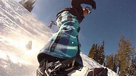 gopro snowboarding nose mount chesty harlem shake style