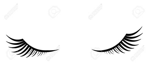 eyes eyelash clipart coloring pages print coloring
