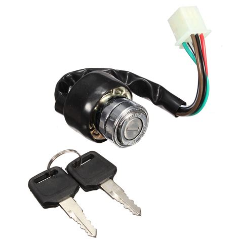 Wire Ignition Switch universal motorcycle atv road vehicles 6 wire ignition
