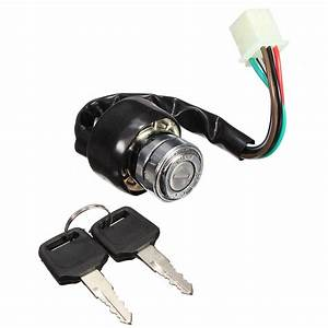Universal Motorcycle Atv Off Road Vehicles 6 Wire Ignition