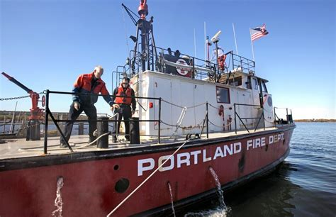Fireboat For Sale by For Fireboat A Sale And A Sail Portland Press Herald