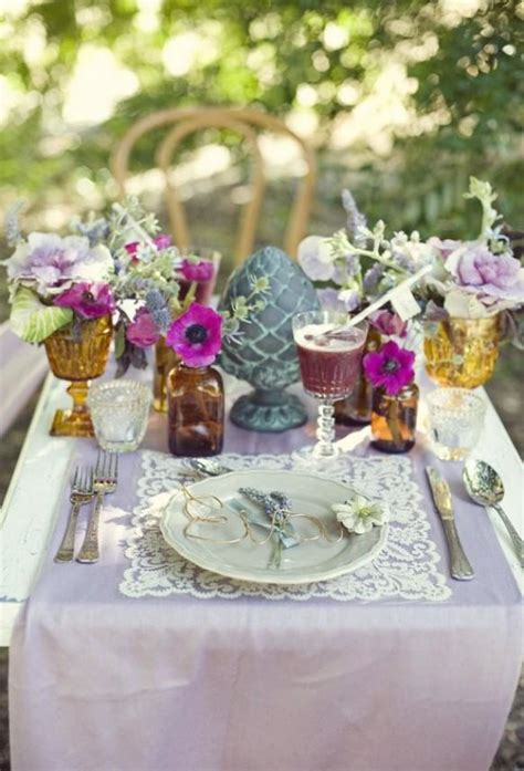 Summer Wedding Unique Wedding Table Decoration Ideas
