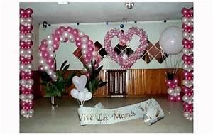 Decoration Salle Mariage Pas Cher : decoration pour mariage pas cher youtube ~ Teatrodelosmanantiales.com Idées de Décoration