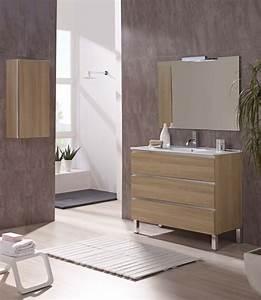 meuble salle de bain design collection marbella promotion With salle de bain design avec vasque sur pied design