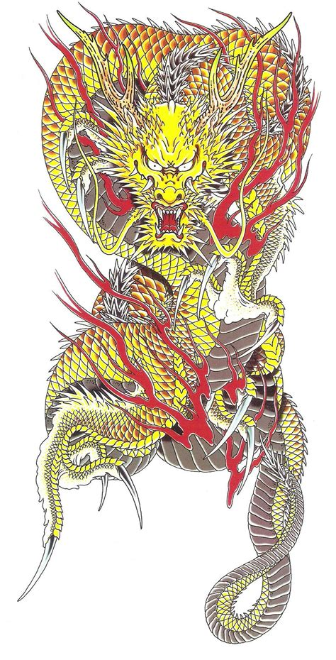 image ryuji goda kouryu tattoo complete designjpg