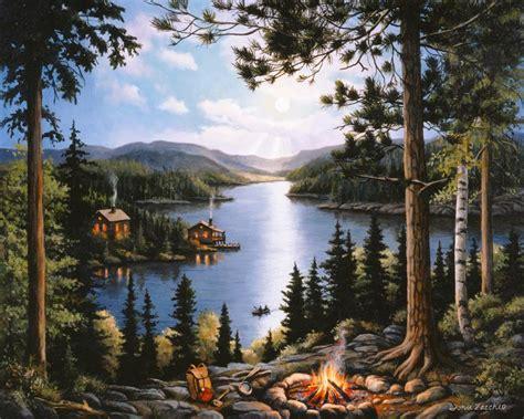 cabin in the woods mural zaccheo murals your way